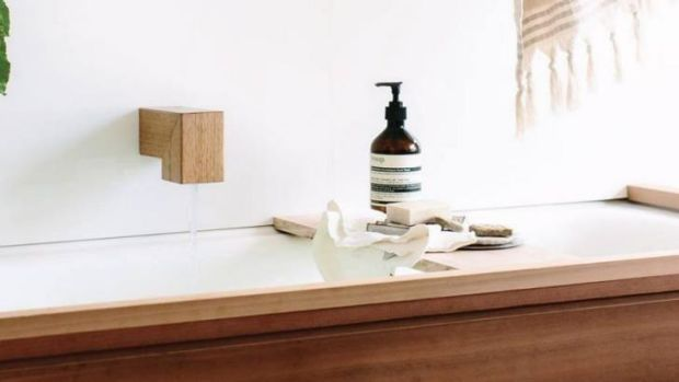 Wood melbourne hand crafted wood and concrete bathroom accessories - Bathroom accessories melbourne ...
