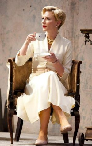 Yelena (Cate Blanchett) is a force to be reckoned with in Sydney Theatre Company's <i>Uncle Vanya</i>.