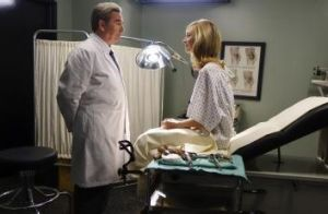 Beau Bridges and  Caitlin FitzGerald in the series <i>Masters of Sex</i>.