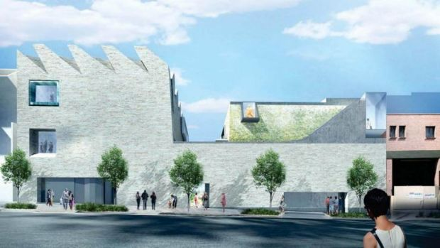 An artist's impression of the proposed $32 million cultural facility for Chippendale set to be approved by the council.