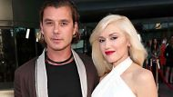 """FILE - In this June 4, 2013 file photo, musicians Gavin Rossdale, left, and Gwen Stefani attend the LA premiere of """"The ..."""