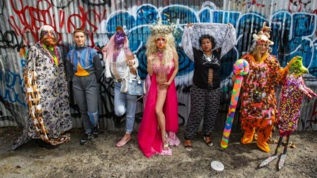 Performance artists who will be taking part in a Sydney contemporary art performance trail weaving from Carriageworks ...