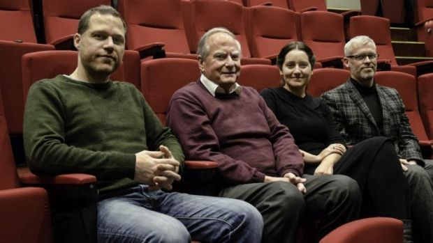 Canberra International Film Festival programmers Olivier Krischer, Andrew Pike, Alice Taylor and Cris Kennedy have ...