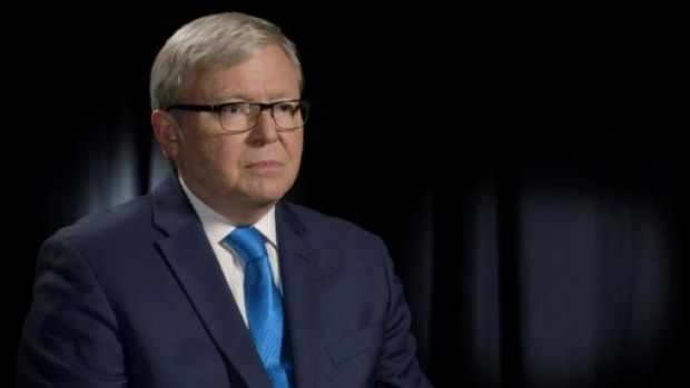 Kevin Rudd's last major television appearance was for the ABC's <i>The Killing Season</i>.