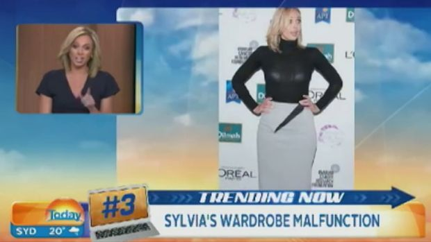 Sylvia Jeffreys addresses her fashion crime.