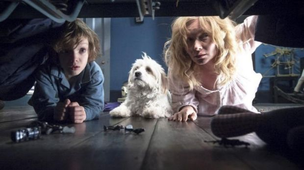 Tied for best film ... Essie Davis and Noah Wiseman in <i>The Babadook</i>
