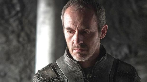 Stannis Baratheon, who appeared to die in the season 5 finale.