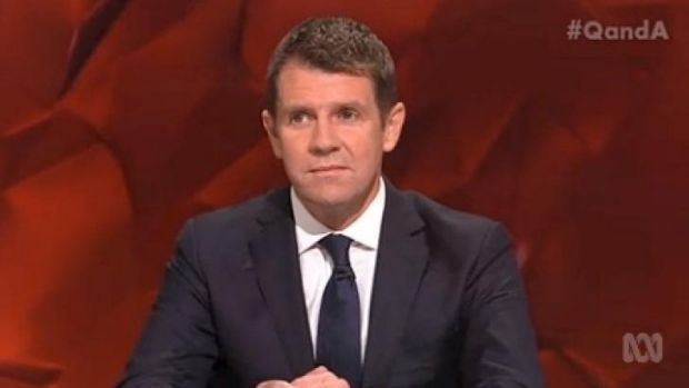 Ready to rumble ... Mike Baird is having quite a political moment.