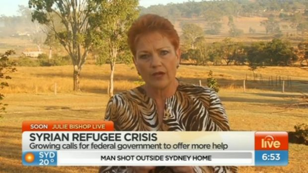 'If you want to have peace and harmony in this country, you cannot keep increasing the Muslims': Pauline Hanson on Sunrise.