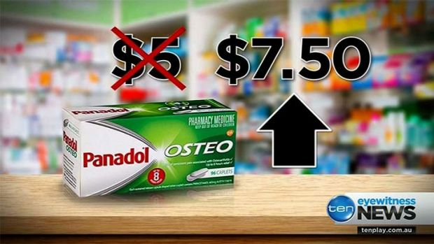 buy online 3ea8b 8c05a Price hike set for Panadol Osteo