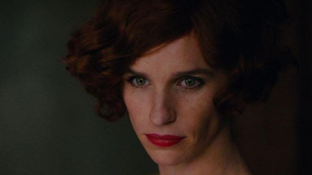 Eddie Redmayne in The Danish Girl.