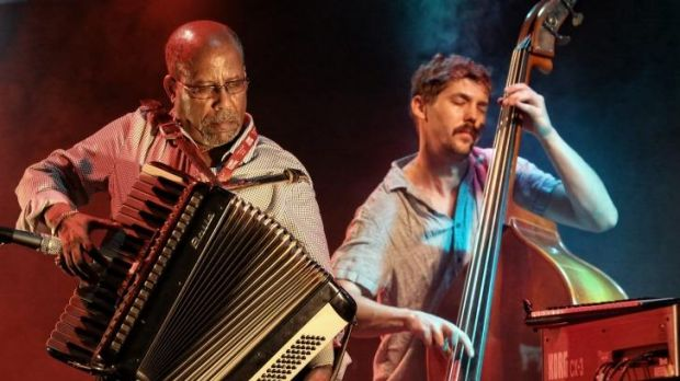 Hailu Mergia: a blend of blend of jazz, funk and traditional Ethiopian music.