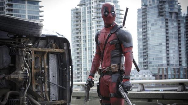 Ryan Reynolds plays a different sort of Marvel hero in <i>Deadpool</i>.