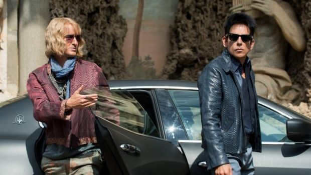 Owen Wilson as Hansel and Ben Stiller as Derek Zoolander in <i>Zoolander 2</i>.
