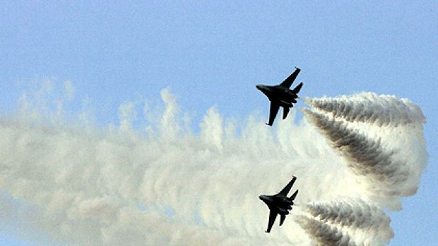 Russia is Venezuela's main supplier of military hardware, including these Sukhoi jets.