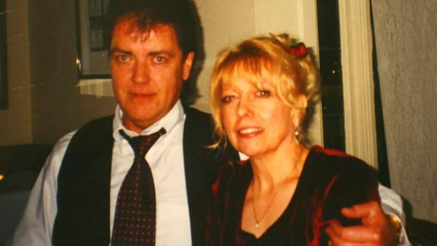 Executed: Terrence Hodson and his wife, Christine.
