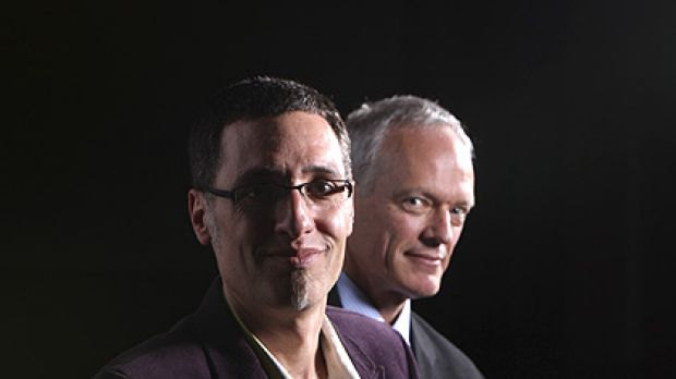 Stephen Conte, left, and Philip Jones, beat the likes of David Malouf, Tom Keneally, Clive James and Germaine Greer to ...