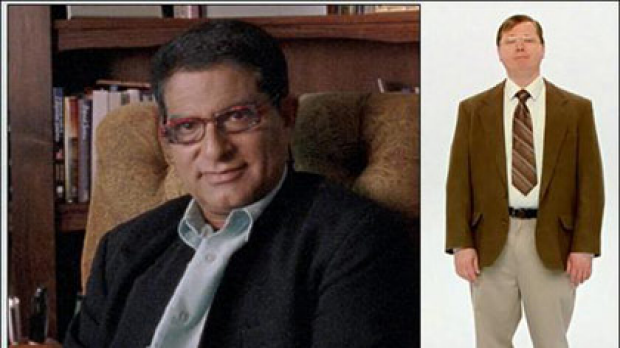 Screen grabs from Microsoft's I'm a PC campaign which features author Deepak Chopra ... who now turns out to be a fan of ...