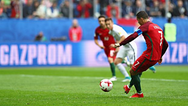 Confederations Cup: Portugal into semi-finals after thumping All Whites