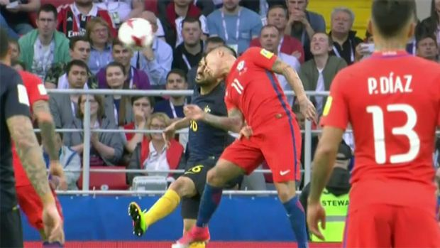 Confederations Cup 2017: Socceroos match Chile, but draw not enough to prevent exit