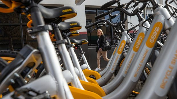 World's biggest bike-share company Ofo to bring hundreds more bikes to Sydney