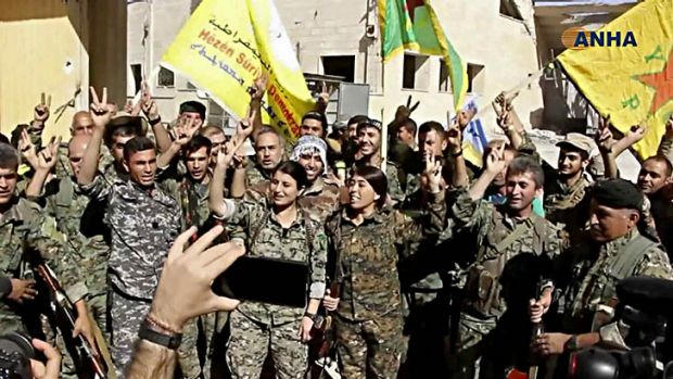 'Come out and surrender': on the ground in Raqqa with fighters who ousted ISIS