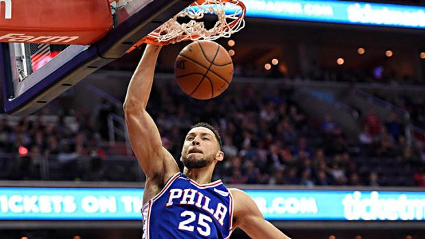 Ben Simmons impressive in Philadelphia 76ers' loss to Washington Wizards