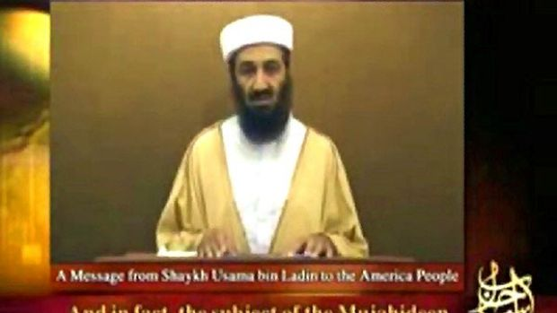 Osama bin Laden in a speech broadcast last year. He is reportedly planning an attack against the United States that will ...