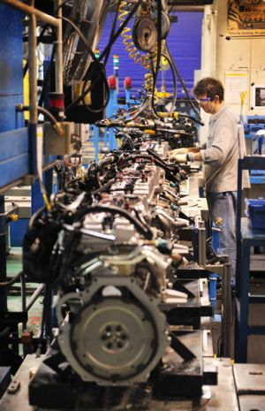 Workers have hailed the Geelong engine plant's reprieve as making up for the lost grand final.