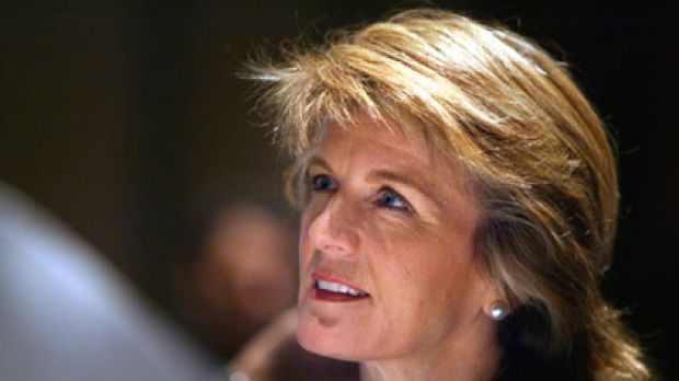 Shadow treasurer Julie Bishop has been given an ultimatum: step down or be removed.