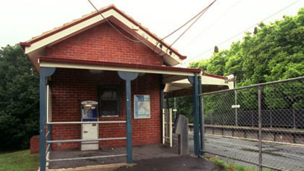 Rushall station, scene of this morning's explosion.