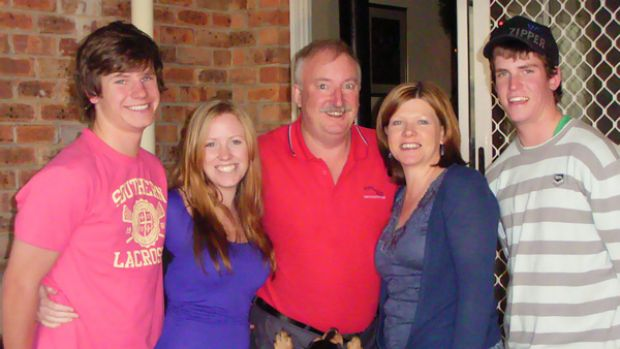 Stuart O'Gorman (left) and his parents, Alan and Carolyn, were killed. Also pictured are twins Bronwyn and Patrick who ...