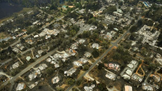 Marysville ... a town destroyed.