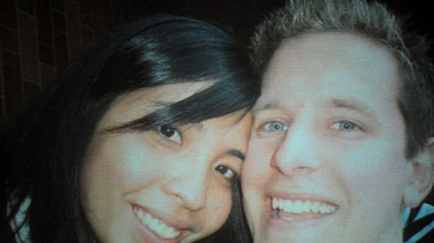 Greg Lloyd with his girlfriend Melanee Hermocilla.