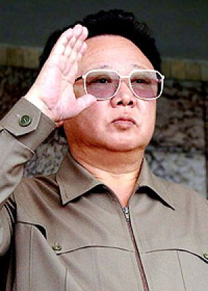 Kim Jong Il in a 2003 file photo.