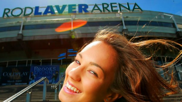 Annabelle Priftis will perform at Rod Laver Arena today.