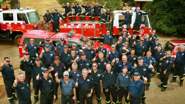 Jobs well done: NSW and overseas firefighters will be going home after the worst of Victoria's bushfire season was ...