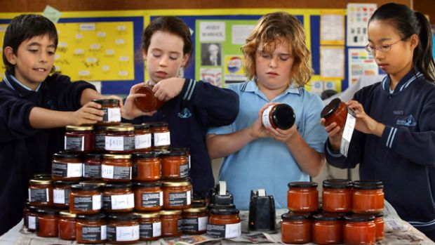 Birralee Primary School students join the jam effort.