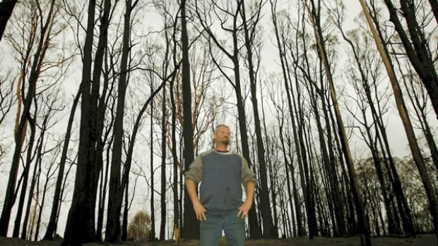 CFA lieutenant Steve Bell is angry because he feels the bushfire royal commission at Kinglake did not allow him to air ...