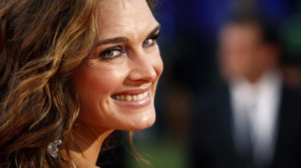 Education comes first ... Brooke Shields won't let her daughters take up acting until they've earned their university ...