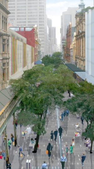 Branching out...an artist's impression of the mall redevelopment.
