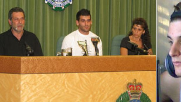 Father Steve Halipilias, brother Spiro and mother Sophie make an emotional plea for witnesses to come forward over the ...