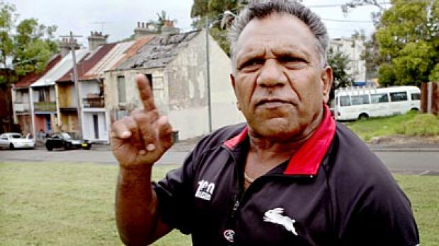 Time to consider other action...  Mick Mundine,  the Aboriginal Housing Company's head, is contemplating court action.