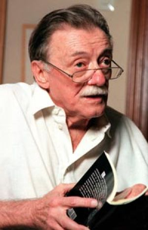 Mario Benedetti in 1999 ... long years spent in exile.