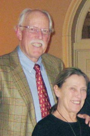 Walter Kendall Myers L and his wife, Gwendolyn Myers, are shown in this February, 2009 handout image in Washington.