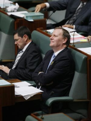 Former treasurer Peter Costello is to quit politics. Picture: Andrew Meares.
