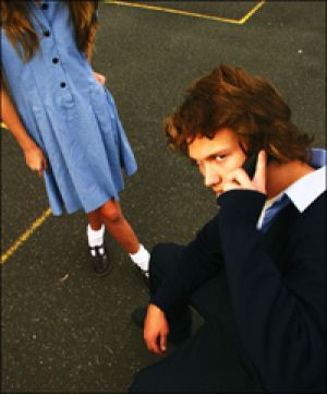 A technology expert says schools are mistaken to ban students having mobile phones at school.