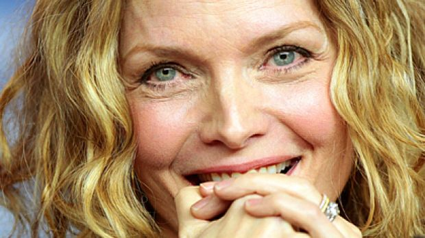Still stunning ... Michelle Pfeiffer eschews plastic surgery in favour of ageing gracefully.