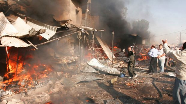 Bomb attack ... 27 people have died in Kirkuk.