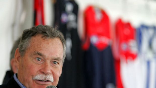 Victorian of the Year ... football legend Ron Barassi.